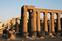 columns, Temple Of Luxor, Luxor, Egypt