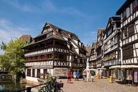 Restaurant Maison de Tanneurs, Petite France, Strasbourg, Alsace, France