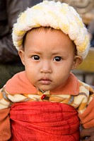 Burmese boy in Mandalay, Myanmar, Burma