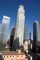 Citigroup Center, US Bank and Gas Co Towers, Downtown Los Angeles, California, USA, United States of America