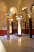 Bathrooms archaeological site of the Cordoba Caliphate