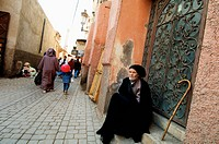 Souk, Marrakech, Morocco