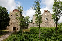 fortress (Ordensburg) of Sigulda, Latvia, Baltic State, Europe