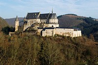 Vianden castle, 2006 november