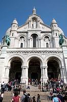 France, Paris 75  Basilique du Sacré-Coeur, Montmartre