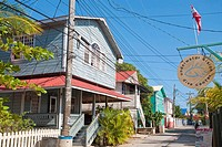 East harbour town, Utila, Bay Islands, Honduras