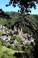 Conques, Aveyron, Midi-Pyrenees, France