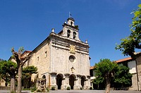 Santuario de la Antigua, Ordu&#241;a, Vizcaya, Pais Vasco, Spain