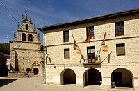 Monasterio de Rodilla, La Bureba, Burgos province, Castile-Leon Spain