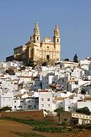 Olvera, Nuestra Señora de la Encarnación church (neo-classical, 19th century), Cádiz province, Andalusia, Spain