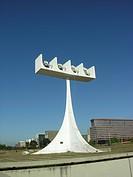 Nossa Senhora Aparecida Church, Brasília Cathedral, Architectural Work, Oscar Niemeyer Project, Distrito Federal, Brasília, Brazil