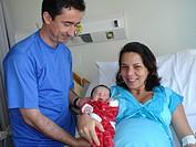 Family, Newly born, São Paulo, Brazil