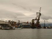 Ship, Santos Port, São Paulo, Brazil