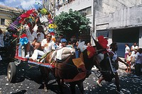 Carriage, Bonfim Party, Salvador, Bahia, Brazil