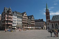 Town hall square, Frankfurt, Germany