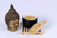 Cup of Pilose Asiabell Root tea, Codonopsis Radix, Moderate Asiabell Root, Szechwon Tangshen Root, Dang Shen