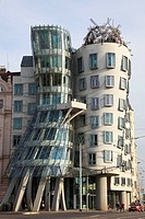 Czech Republic, Prague, Dancing House, modern architecture