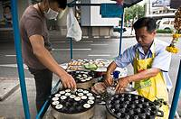 Street food in Bangkok, Thailand.
