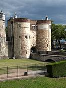 Main entrance into the Tower of London, England