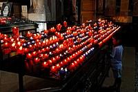 France, Calvados, Lisieux, Sainte Therese Basilica