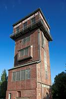 D-Castrop-Rauxel, Ruhr area, North Rhine-Westphalia, D-Castrop-Rauxel-Schwerin, hard coal mining, Gelsenkirchen Bergwerks AG, coal-pit Erin, shaft 3, ...