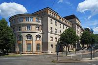 Germany, Essen, Ruhr area, North Rhine-Westphalia, D-Essen-Frohnhausen, Friedrich Alfred Krupp, Office Building West, administration building, former ...
