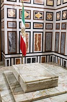 Egypt, Cairo, old town listed as World Heritage by UNESCO, El Rifai Mosque, the tomb of Mohammad Reza Pahlavi last Shah of Iran