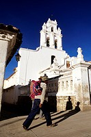 Bolivia, Chuquisaca Department, Sucre, town listed as World Heritage by UNESCO, Santa Teresa Teresa