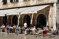 Croatia, Dubrovnik, the old town, listed as World Heritage by UNESCO