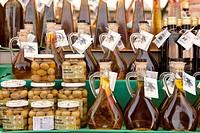 Croatia, Istria, Adriatic Coast, the city of Rovinj, olive oil