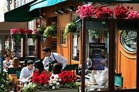 France, Paris, restaurant at Bastille