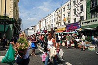 United Kingdom, London, Portobello, Notting Hill, Portobello saturday´s market