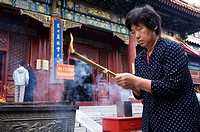 China, Beijing, Lama Temple
