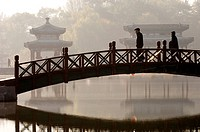 China, Hebei Province, Chengde, parc of the Imperial Summer Palace, listed as World Heritage by UNESCO