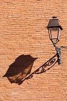 France, Haute Garonne, Toulouse, lamp post