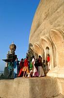 India, Karnataka, Bijapur, Golgumbaz Mausoleum