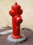 A fire hydrant in France
