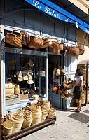 France, Alpes Maritimes, Nice, Old Town, Le Palais d´ Osier shop