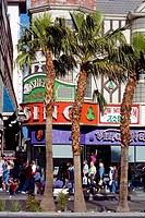 United States, Nevada, Las Vegas, The Strip, O´ Sheas Casino, façade