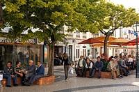 Portugal, Algarve region, Lagos, Praca Gil Eanes