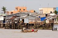 Vietnam, Mekong Delta, Can Tho, river