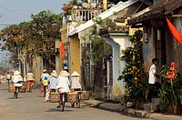 Vietnam, Quang Nam province, Hoi An, Old town listed as World Heritage by UNESCO, Streets