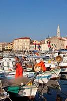 Croatia, Istria, Adriatic Coast, the city of Rovinj