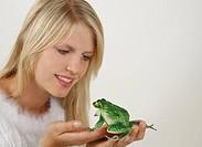 Prinzessin mit Frosch