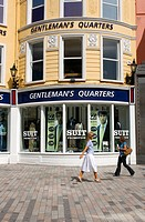 Ireland, County Cork, Cork, Gentleman´s Quarters shop