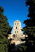 France, Bouches du Rhone, Camargue, Arles, cloister of the Saint Trophime Church listed as World Heritage by UNESCO, Saint Trophisme primate