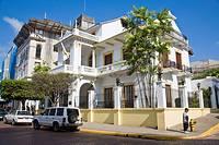 Houses, Casco Viejo, Panama City, Panama