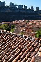 Orbaneja del Castillo. Burgos. Spain.