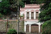 Rio de Janeiro (Brazil): old house in the Santa Teresa neighborhood