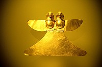 Pre-Columbian artefact, Museo de Oro, Gold Museum, Bogota, Colombia